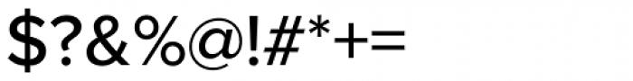 Proxima Nova Medium Font OTHER CHARS