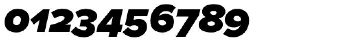 Proxima Nova S Black Italic Font OTHER CHARS