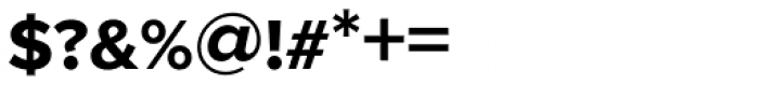 Proxima Nova S Bold Font OTHER CHARS