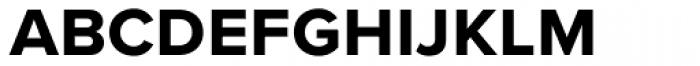Proxima Nova S Bold Font LOWERCASE
