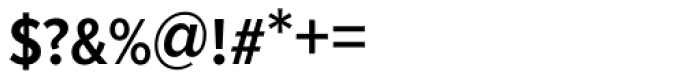 Proxima Nova S Cond SemiBold Font OTHER CHARS