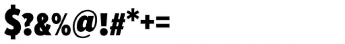 Proxima Nova S ExtraCond Black Font OTHER CHARS