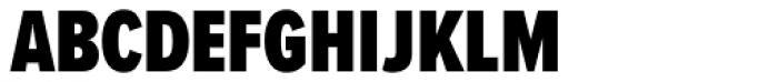 Proxima Nova S ExtraCond Black Font UPPERCASE