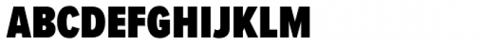 Proxima Nova S ExtraCond Black Font LOWERCASE
