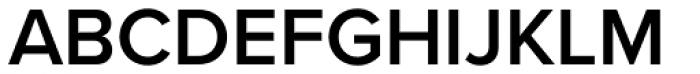 Proxima Nova S SemiBold Font UPPERCASE