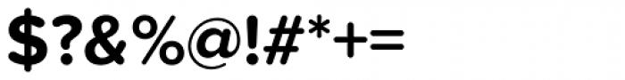 Proxima Nova Soft Bold Font OTHER CHARS
