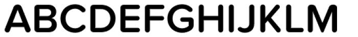 Proxima Nova Soft SemiBold Font UPPERCASE
