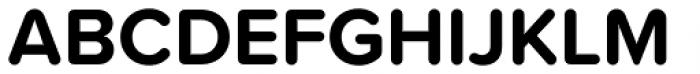 Proxima Soft Bold Font UPPERCASE
