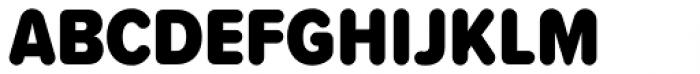 Proxima Soft Cond Black Font UPPERCASE