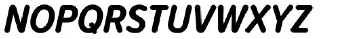 Proxima Soft Cond Bold Italic Font UPPERCASE