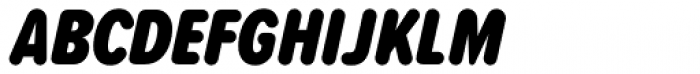Proxima Soft ExtraCond Black Italic Font UPPERCASE