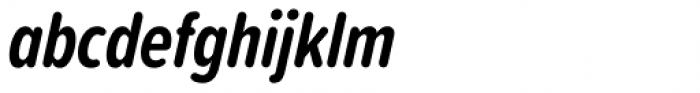 Proxima Soft ExtraCond Bold Italic Font LOWERCASE