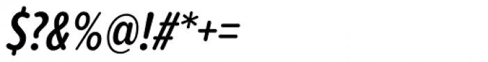 Proxima Soft ExtraCond SemiBold Italic Font OTHER CHARS