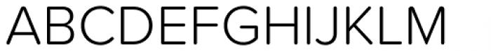 Proxima Soft Light Font UPPERCASE