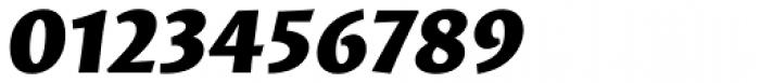 Proza Black Italic Font OTHER CHARS