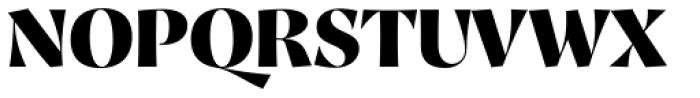 Proza Display Black Font UPPERCASE