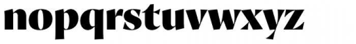 Proza Display Black Font LOWERCASE