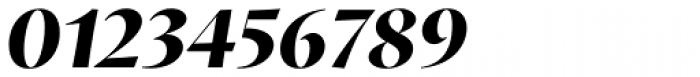 Proza Display Extra Bold Italic Font OTHER CHARS