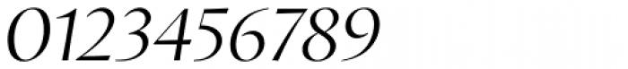 Proza Display Light Italic Font OTHER CHARS