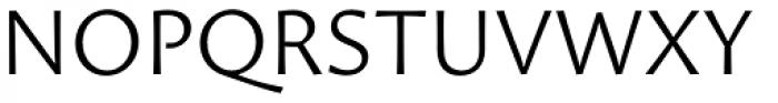 Proza Light Font UPPERCASE