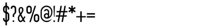 Prozak Light Font OTHER CHARS