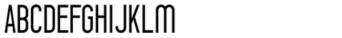 Prozak Light Font UPPERCASE