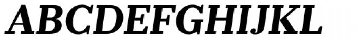 Prumo Banner Bold Italic Font UPPERCASE