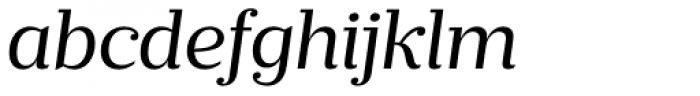 Prumo Banner Book Italic Font LOWERCASE