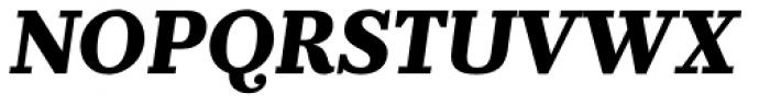Prumo Banner ExtraBold Italic Font UPPERCASE