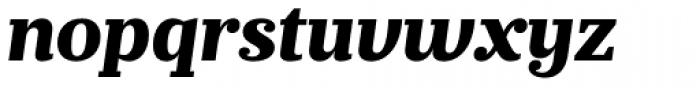 Prumo Banner ExtraBold Italic Font LOWERCASE