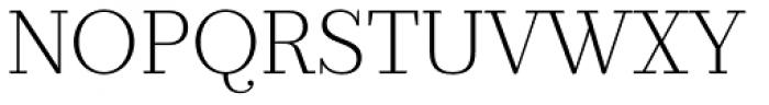 Prumo Banner ExtraLight Font UPPERCASE