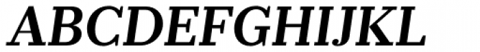 Prumo Banner SemiBold Italic Font UPPERCASE