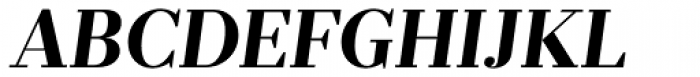 Prumo Deck Bold Italic Font UPPERCASE