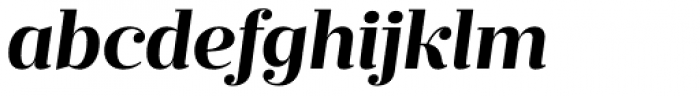 Prumo Deck Bold Italic Font LOWERCASE