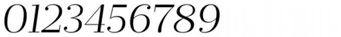 Prumo Deck Light Italic Font OTHER CHARS