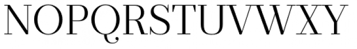 Prumo Deck Light Font UPPERCASE