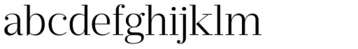 Prumo Deck Light Font LOWERCASE