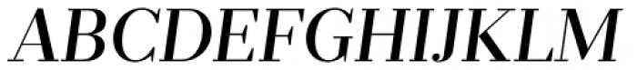 Prumo Deck Medium Italic Font UPPERCASE
