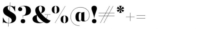 Prumo Display Black Font OTHER CHARS
