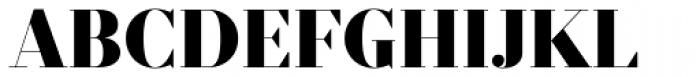 Prumo Display Black Font UPPERCASE