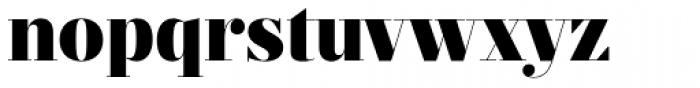 Prumo Display Black Font LOWERCASE