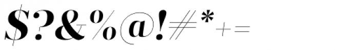 Prumo Display Bold Italic Font OTHER CHARS