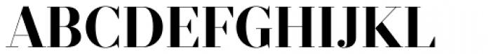 Prumo Display Bold Font UPPERCASE