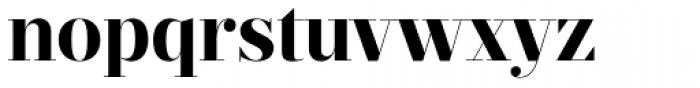 Prumo Display Bold Font LOWERCASE