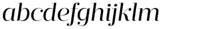 Prumo Display Book Italic Font LOWERCASE