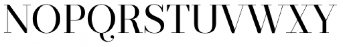 Prumo Display Book Font UPPERCASE