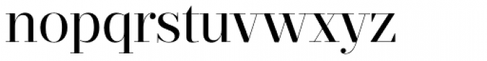 Prumo Display Book Font LOWERCASE