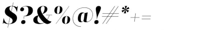 Prumo Display ExtraBold Italic Font OTHER CHARS