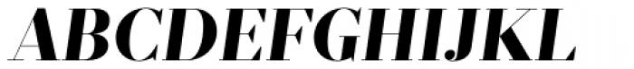 Prumo Display ExtraBold Italic Font UPPERCASE