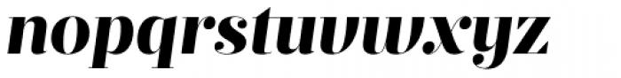 Prumo Display ExtraBold Italic Font LOWERCASE